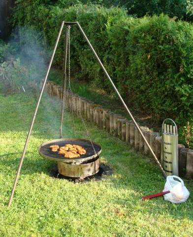 The typical BBQ device in my region.